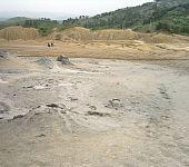 Mud Volcanoes From Sarata Monteoru, Buzau, Romania