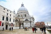People Sightseeing Santa Maria Della Salute