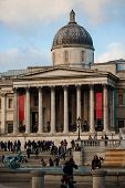 National Gallery In London, Uk