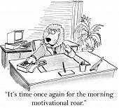 Morning Motivation Roar