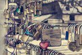 Wooden Love Lock