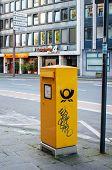 Deutsche Post Dhl - Mailbox In The City