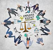 Employee Rights Employment Equality Job Business Support Concept
