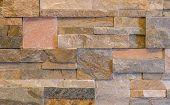 Close up of Rough Cut Marble Wal.l