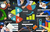 pic of economy  - Finance Financial Business Economy Exchange Accounting Banking Concept - JPG