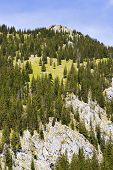 foto of bavaria  - Landscape on the mountain Breitenstein in the Alps in Bavaria Germany - JPG