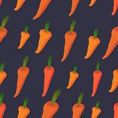foto of carrot  - Carrot pattern - JPG