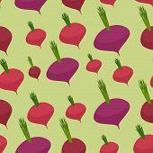 pic of beet  - Beet seamless pattern - JPG