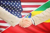 picture of ethiopia  - Businessmen shaking hands  - JPG