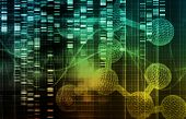stock photo of genetic engineering  - Genetic Engineering as a Science Concept Art - JPG