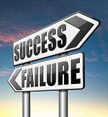 pic of wise  - success versus failure being successful or fail win or loose make an important decision and choose wise - JPG