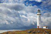pic of lighthouse  - Cape Egmont Lighthouse - JPG