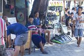 Постер, плакат: GILI ISLANDS INDONESIA MARCH 22: Gili islands are small tropical islands between Lombok and Bali