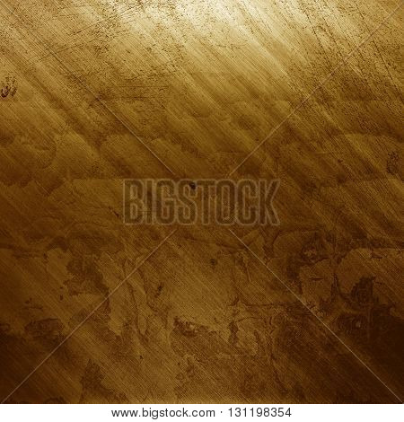 Metal.Metal texture.Golden Metal plate. Gold texture. Metal background. Polished metal. Metal textur