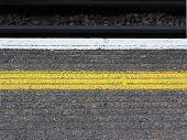Yellow Platform Line