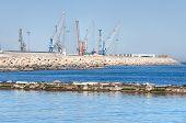 Panoramic view of Bari. Apulia.