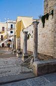 St. Maria del Buon Consiglio Square. Bari. Apulia.