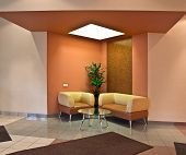 image of anteroom  - close up on modern anteroom interior details - JPG