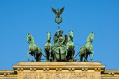 Quadriga on the Brandenburger Tor