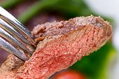 Baked New York Strip Steak with Vegetables