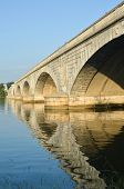 Arlington Memorial Bridge in Washington DC USA