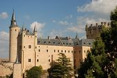 The Famous Alcazar In Segovia