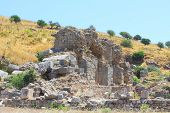 stock photo of brothel  - Antique ruins in a city in the Efes - JPG