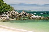Sand Beach, rocky coastline