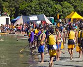 Waka Ama Race Day