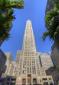 Ge Building At Rockefeller Center