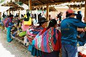 Chinchero sunday market, Peru