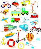 Постер, плакат: Транспорт