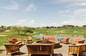 Club House Patio Terrace In Scottsdale, Az