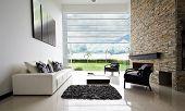 Serie de diseño de interiores: sala de estar moderna