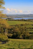 View to Chew Valley Lake - portrait