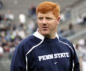 Penn State assistant coach Mike McQueary