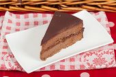 pic of nic  - Delicious slice of home made chocolate cake - JPG