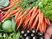 Carrots And Veg poster