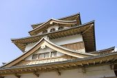 Takashima Castle Main Keep (fragment)