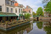 street of Den Haag, Holland