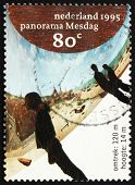 Postage stamp Netherlands 1995 Panorama Mesdag, by Hendrik Wille