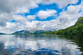 Lake Windermere on the Lake District in England poster