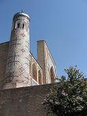 Tashkent Kukeldash Madrassah Minaret 2007