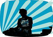 Dj Making Music
