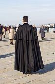 Orthodox Priest In Trieste