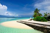 Beautiful beach at Maldives, South Male Atoll