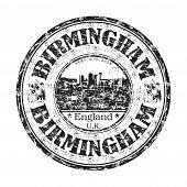Birmingham-Grunge-Stempel