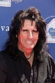 LOS ANGELES - MAR 10:  Alice Cooper arrives at the  10th Annual John Varvatos Stuart House Benefit a