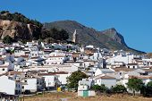 White village, Ardales, Andalusia, Spain.