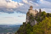 Castle In San Marino - La Cesta or Fratta, seconda Torre